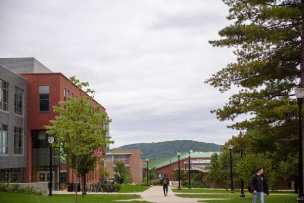 The University of Massachusetts, Amherst.